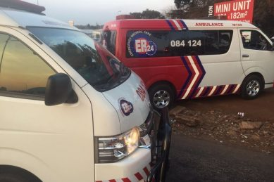 Girl, 12, critical after being hit by cash-in-transit van