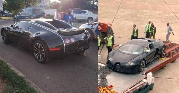 Zambian authorities seize Bugatti Veyron after social media storm