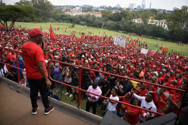 Malema says EFF won't take 'nonsense from police'
