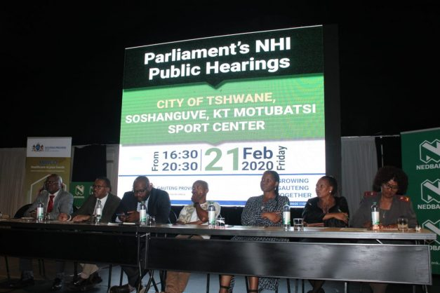 Public hearings on NHI bill continue in Soshanguve
