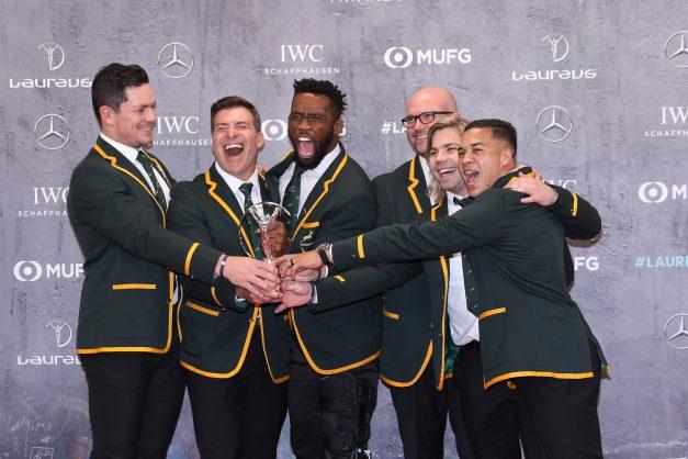 'Bursting with pride' – Springboks win prestigious Laureus award