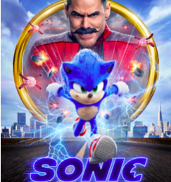 Sonic the Hedgehog is out in cinemas today!
