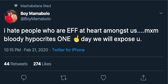 boy mamabolo eff tweet