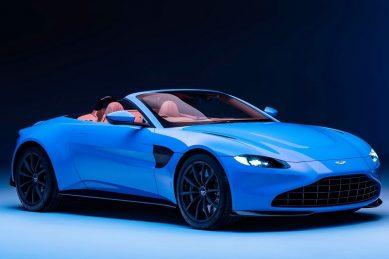 Aston Martin blows Vantage's top