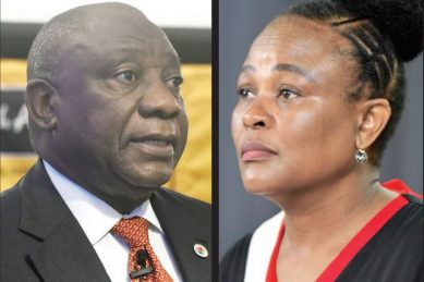 Mkhwebane 'may have gone too far' in CR17 report