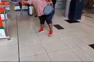 WATCH: Fed-up Polokwane residents empty buckets of sewage in municipal hall - Citizen