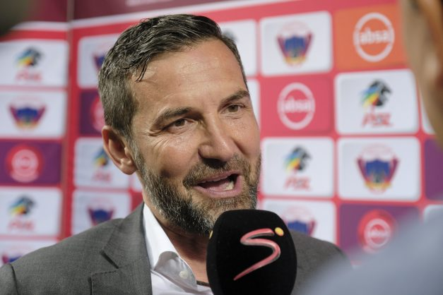 Zinnbauer reveals what happened in his first few days in SA