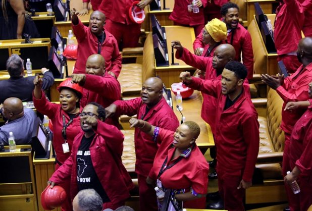 Probe into EFF's Sona 'disruption' should be halted, parliamentary body rules