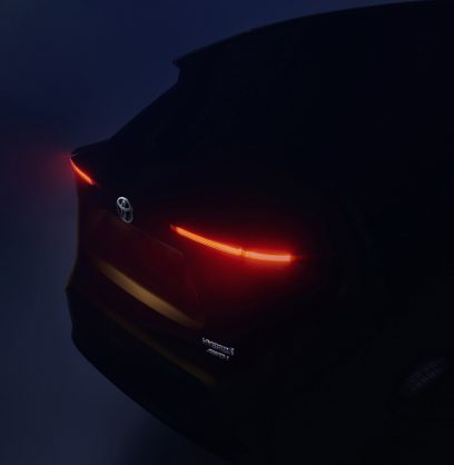 Geneva bound Toyota Yaris based SUV previewed in new teaser