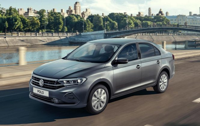 New Volkswagen Polo Sedan revealed for Russia only