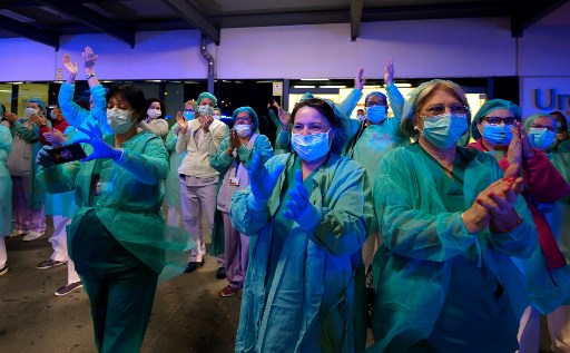 Spain virus toll passes 4,000 but death rate slows