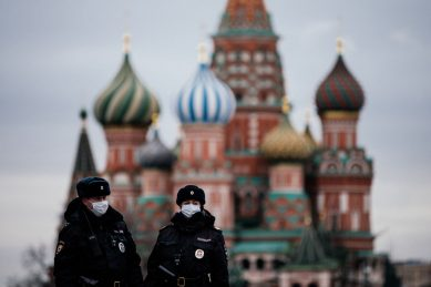Russian plane heads to US with supplies for virus fight