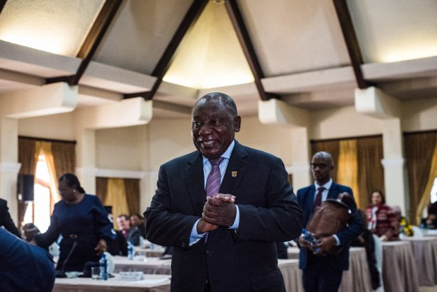 Ramaphosa wraps up meeting with business and political leaders, begins Command Council planning