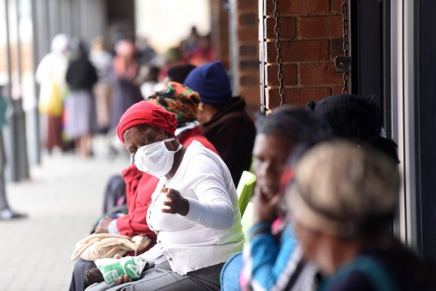 Temporary disability grant applicants sleeping outside Sassa offices in Bellville
