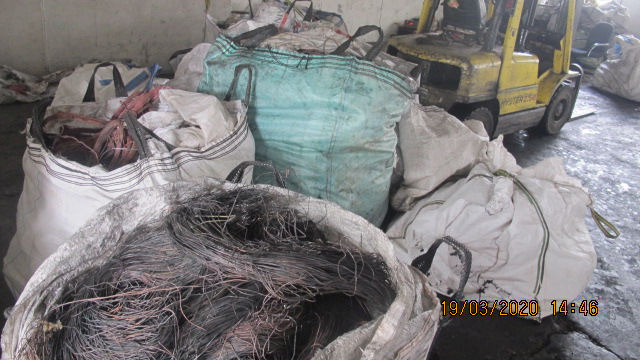 KZN police recover heaps of copper cables belonging to parastatals
