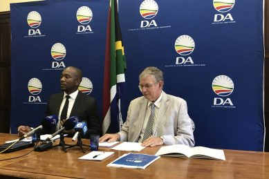 DA says new Tshwane administrator lied about R1bn irregular expenditure