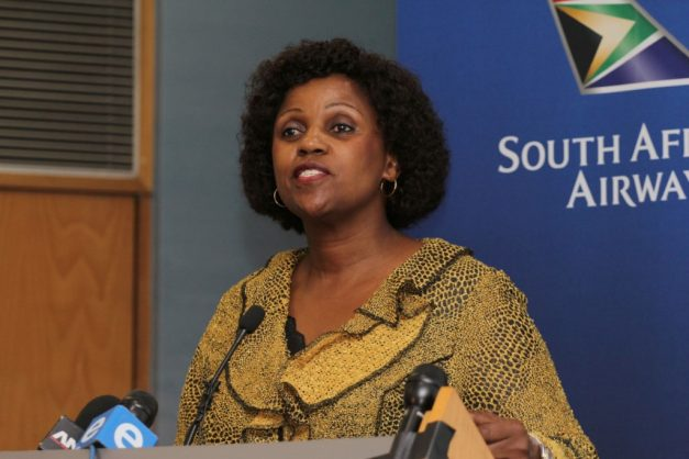 Dudu Myeni is officially a delinquent director