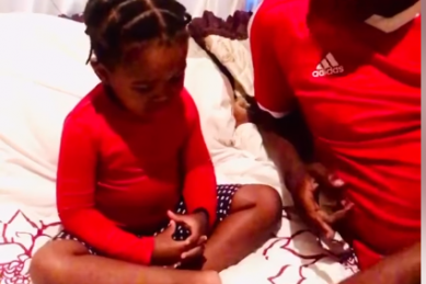 South African dad and daughter hand washing video is the cutest thing you'll see today