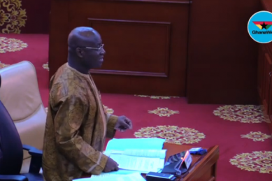 WATCH: Call for CCTV cameras as hand sanitisers disappear overnight in Ghana parliament