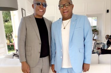 Malema calls Mbalula his 'brother' in new photo