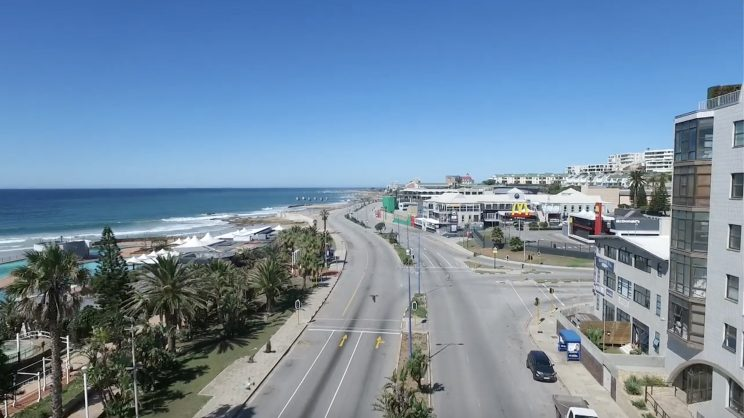 WATCH: The eerie scenes of Port Elizabeth standing empty on a sunny Covid-19 Saturday