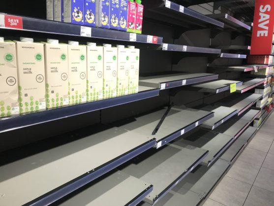 How Covid-19 panic buying reveals SA's inequalities