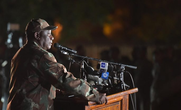 Ramaphosa authorises 73,000 more troops, but it doesn't mean all will be deployed