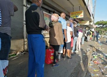 WATCH: From crowds in Alex to people still jogging, 21-day lockdown off to a rocky start