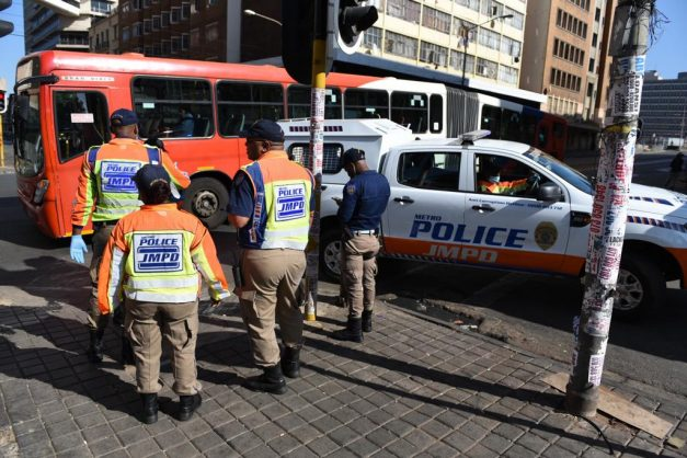 WATCH: Early morning arrests for those defying lockdown order