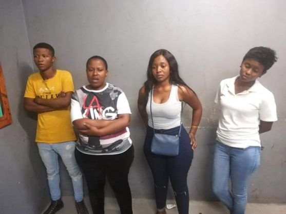 WATCH: Youngsters drink and taunt Bheki Cele. Then they get arrested