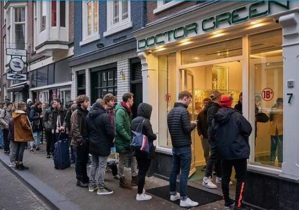 Cannabis to go: Dutch U-turn on coronavirus cafe shutdown