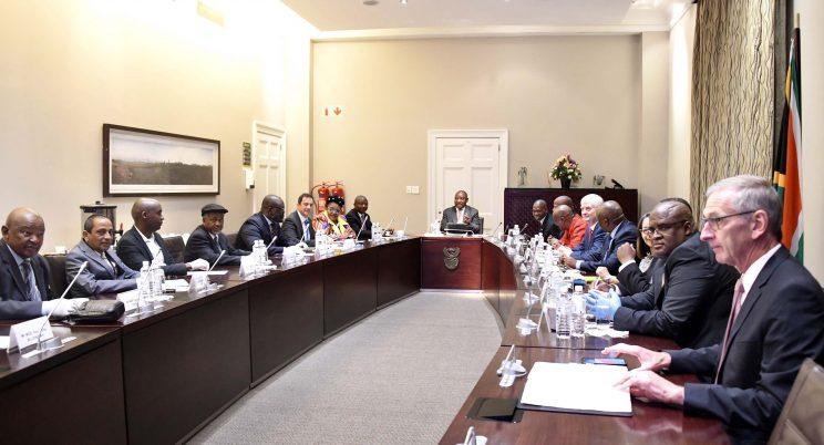 Coronavirus unites South African politicians