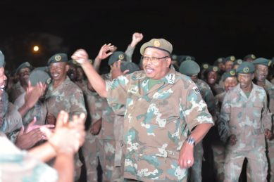 Defence Force not ANC hired guns