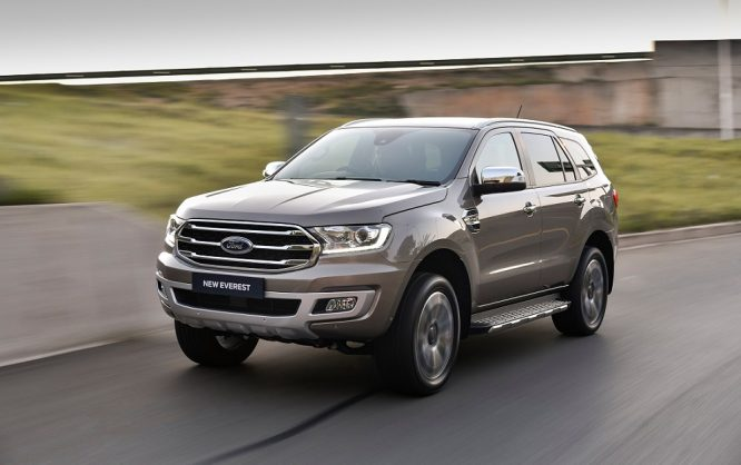 Spied mystery Ford SUV possibly identified as all-new Everest
