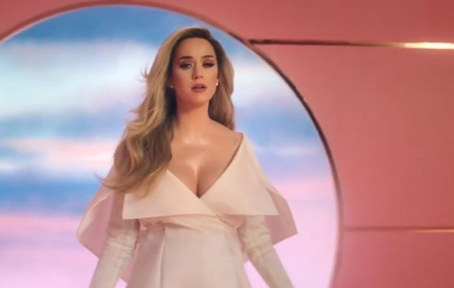 Katy Perry announces pregnancy with new music video