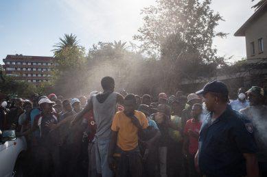GALLERY: Nyaope addicts in Tshwane dumped in stadium in the agonies of withdrawal