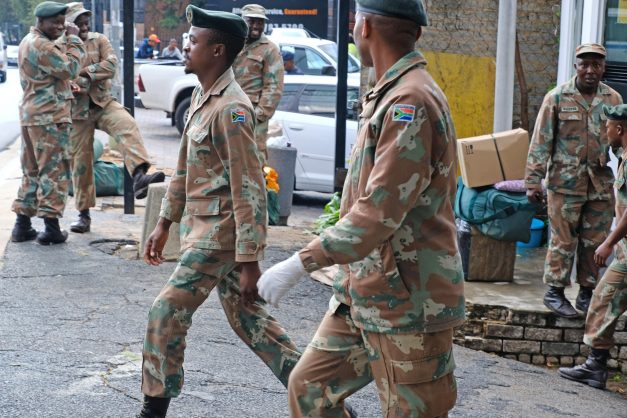SANDF will help police to limit movement during lockdown