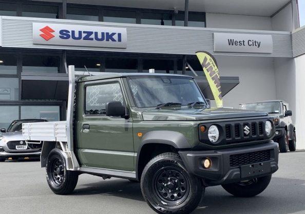 Open-deck Suzuki Jimny finally happens….but only in New Zealand