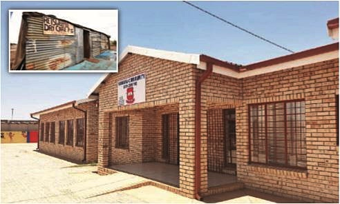 From impoverished shack pre-school to 'an inspiration'