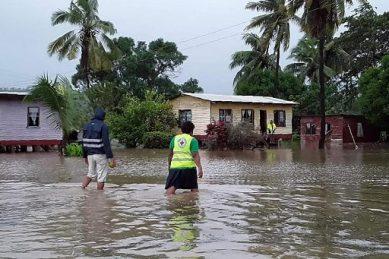 Monster cyclone Harold tears through Fiji