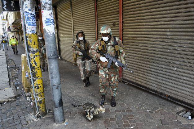 Army street patrols too costly