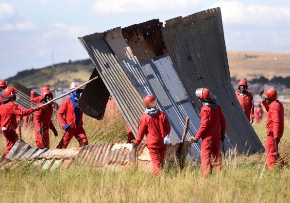 Elandsfontein land-grabbers vow to return to rebuild shacks