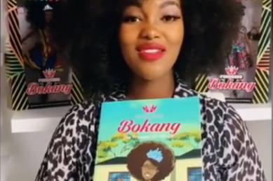 Former Miss SA Bokang Montjane-Tshabalala launches children's books