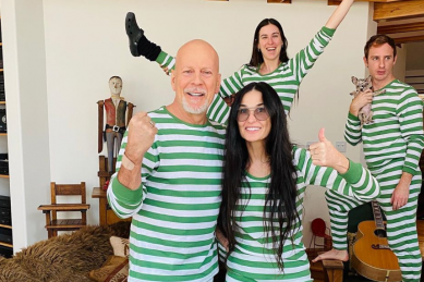 Bruce Willis and Demi Moore are co-parenting goals