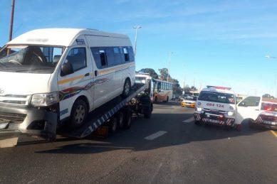 Joburg taxi driver slammed after rolling overloaded minibus