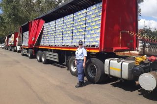 Trucks seized by cops with R28m in stock, but SAB says it�s all a misunderstanding - The Citizen