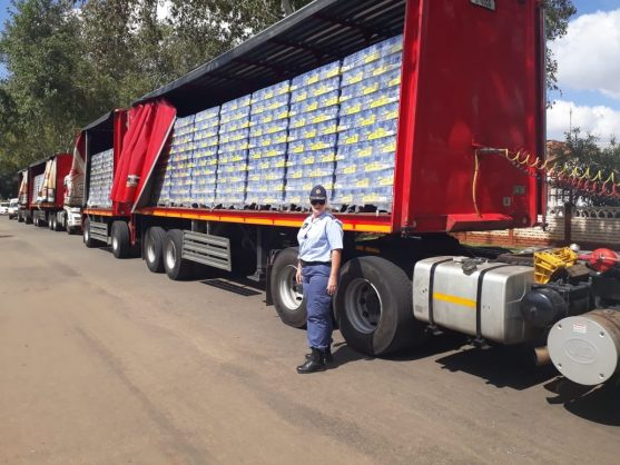 Trucks seized by cops with millions in stock, but SAB says it's all a misunderstanding