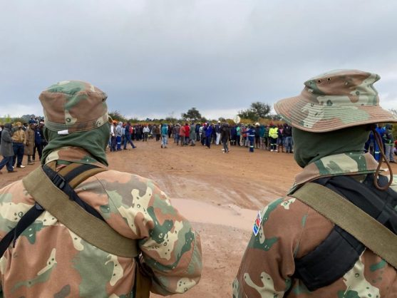 Girlfriend alleges cover-up in Mpumalanga SANDF shooting of man