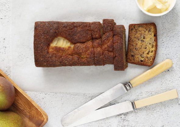 Recipe: Pear and banana bread