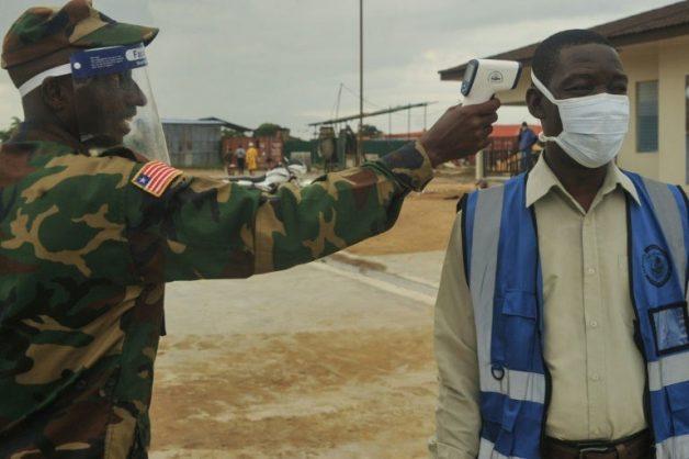 After Ebola, Liberian doctors have coronavirus head start